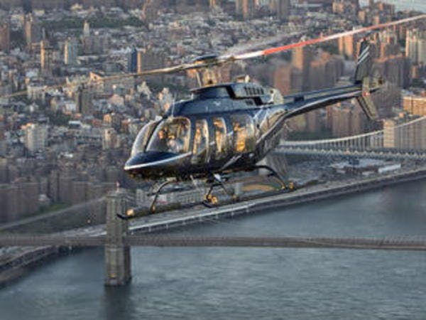 Helicopter tour Manhattan Highlights