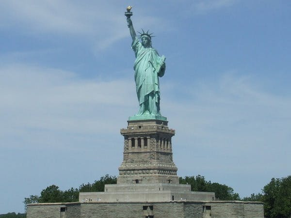 Statue of Liberty and Ellis Island